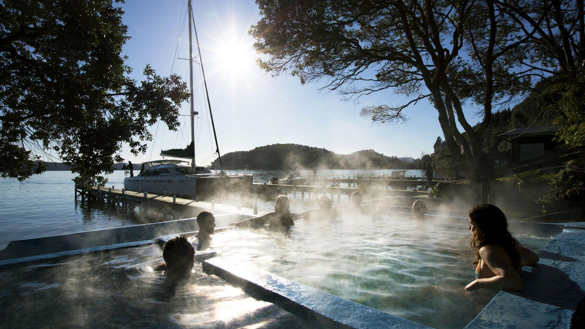 Pure Cruise hot pools tour
