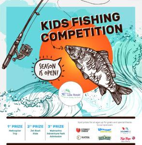 Lake Rotoiti Hot Springs 2020 Kids Fishing Competition