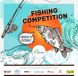 Lake Rotoiti Hot Springs 201 Fishing Competition